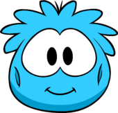 Blue Puffle Costume clothing icon ID 4543