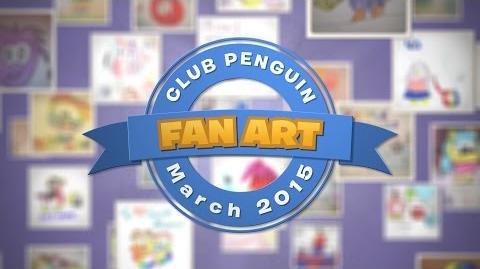 Featured Fan Art March 2015 - Disney Club Penguin