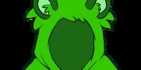 Green Raccoon Hoodie