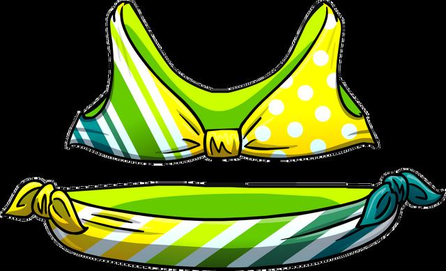 File:Lemon Lime Stripe Bikini.png