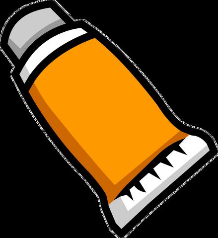 File:Orange Face Paint icon empty.png