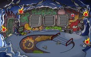 Puffle Party 2012 Underground Pool light off