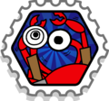 Crab Battle stamp