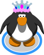 Feathered Tiara in-game