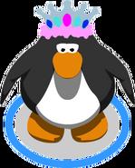 Feathered Tiara in-game