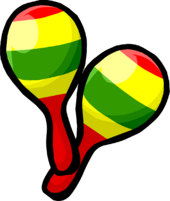 Festive Maracas clothing icon ID 337