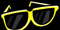 Yellow Giant Sunglasses