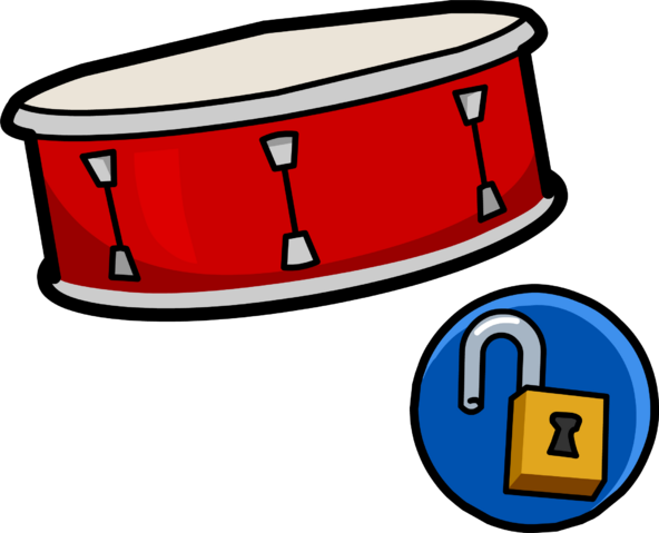File:Snare Drum unlockable clothing icon ID 10180.PNG