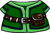 Green Tunic clothing icon ID 4084