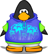 Surf's Up Hoodie from a Player Card