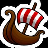 Viking Ship Pin 1