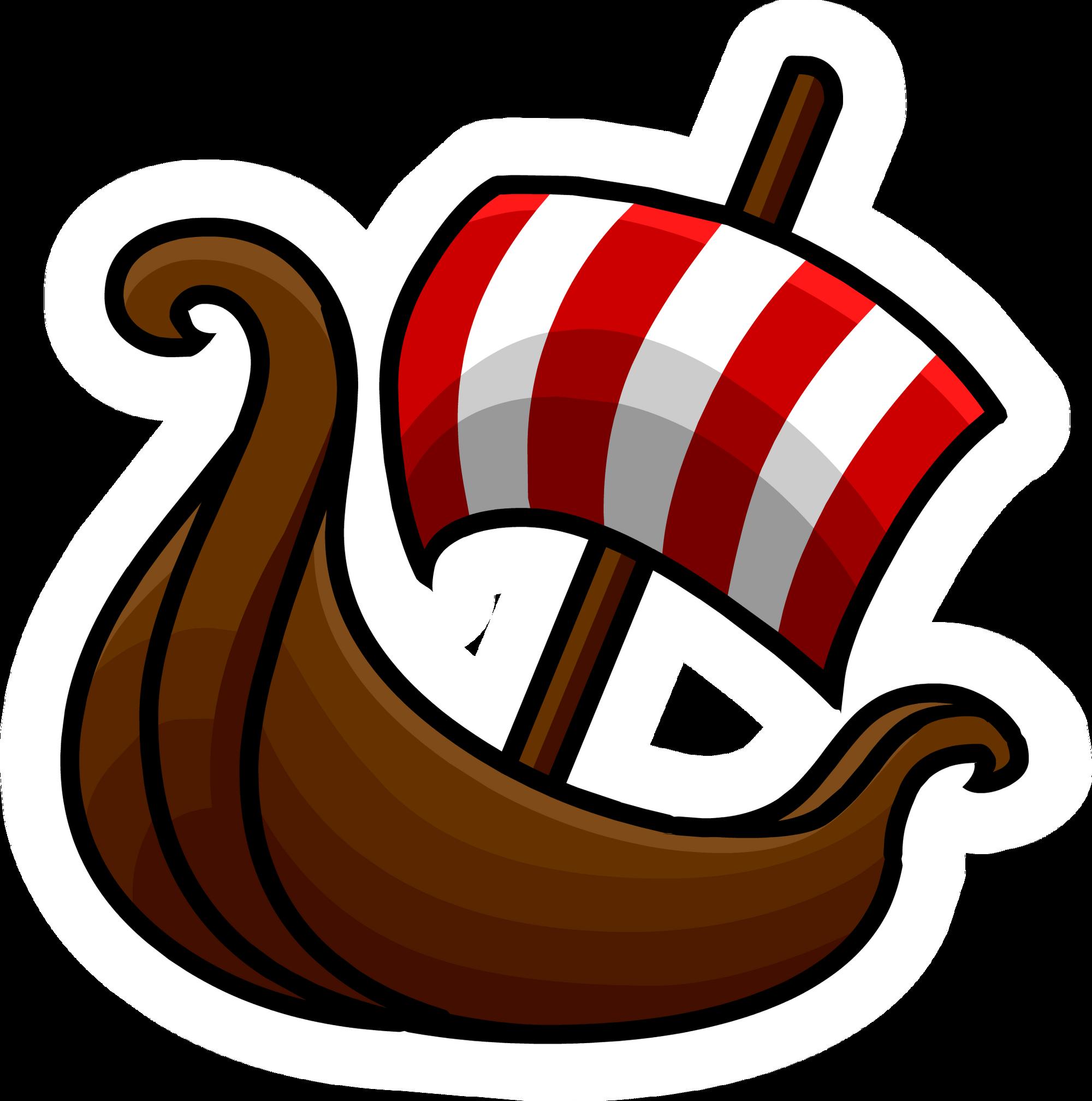 image viking ship pin 1 png club penguin wiki fandom powered