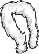White Feather Boa Icon 3100