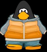 Orange Fade Hoodie Player Card