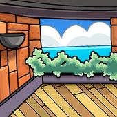 Patio View background photo