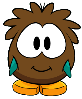 File:AquaPenguinBrownPuffleCostume.png