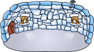Deluxe Blue Igloo (in-game)
