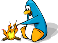 PenguinRoastingMarshmallow