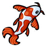 Koi Fish Pin