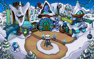 Merry Walrus Party Town