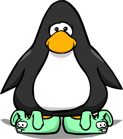 File:Green Bunny Slippers PC.png
