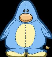 Blue Penguin Stuffie Costume icon