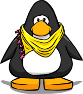 Yellow Designer Scarf PC