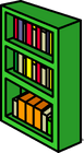 Green Bookcase sprite 006
