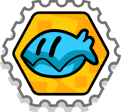Clam Success stamp for infobox