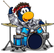 Penguin Band Makover G Billy 2