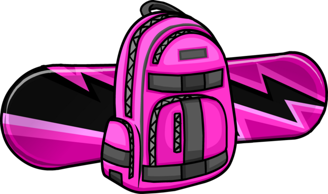 File:Electric Pink Snowboard icon.png