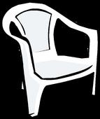 White Plastic Chair sprite 005