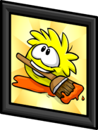 Yellow Puffle Picture sprite 003