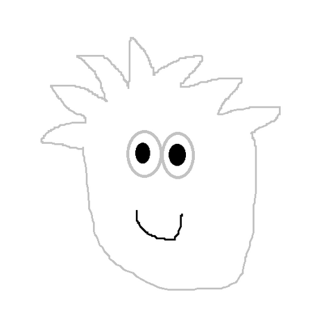 File:WHITE PUFFLE DRAWING.png