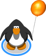 Orange Balloon In-Game