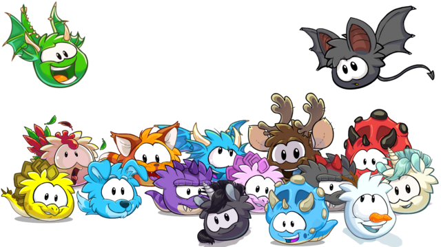 File:Puffle Collage w snowman puffle.png