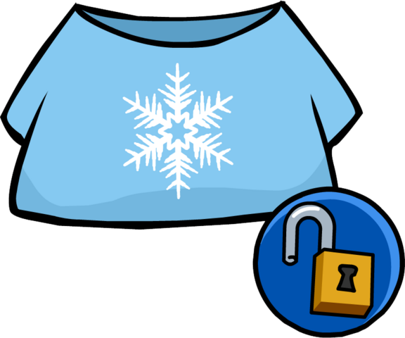 File:SnowflakeShirtUnlockable.png