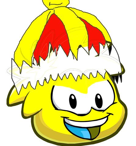 File:Yellow Yoshi puffle.png