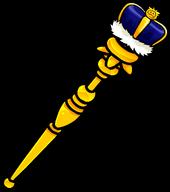Royal Blue Scepter