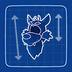 Blueprint Wolf Head icon