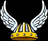 Winged Viking Helmet icon ID 473