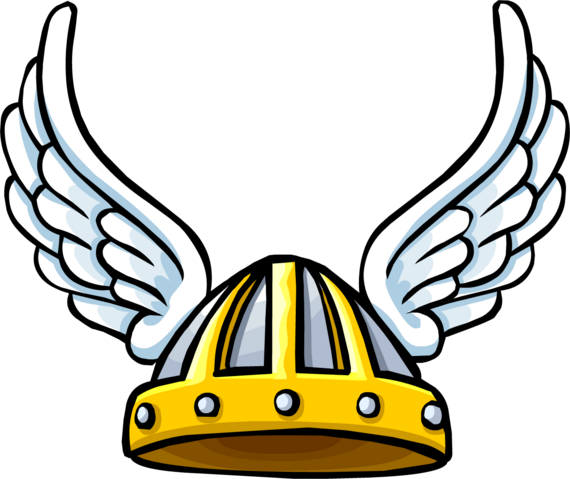 File:Winged Viking Helmet icon ID 473.png