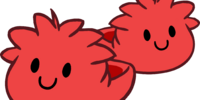Red Puffle Slippers