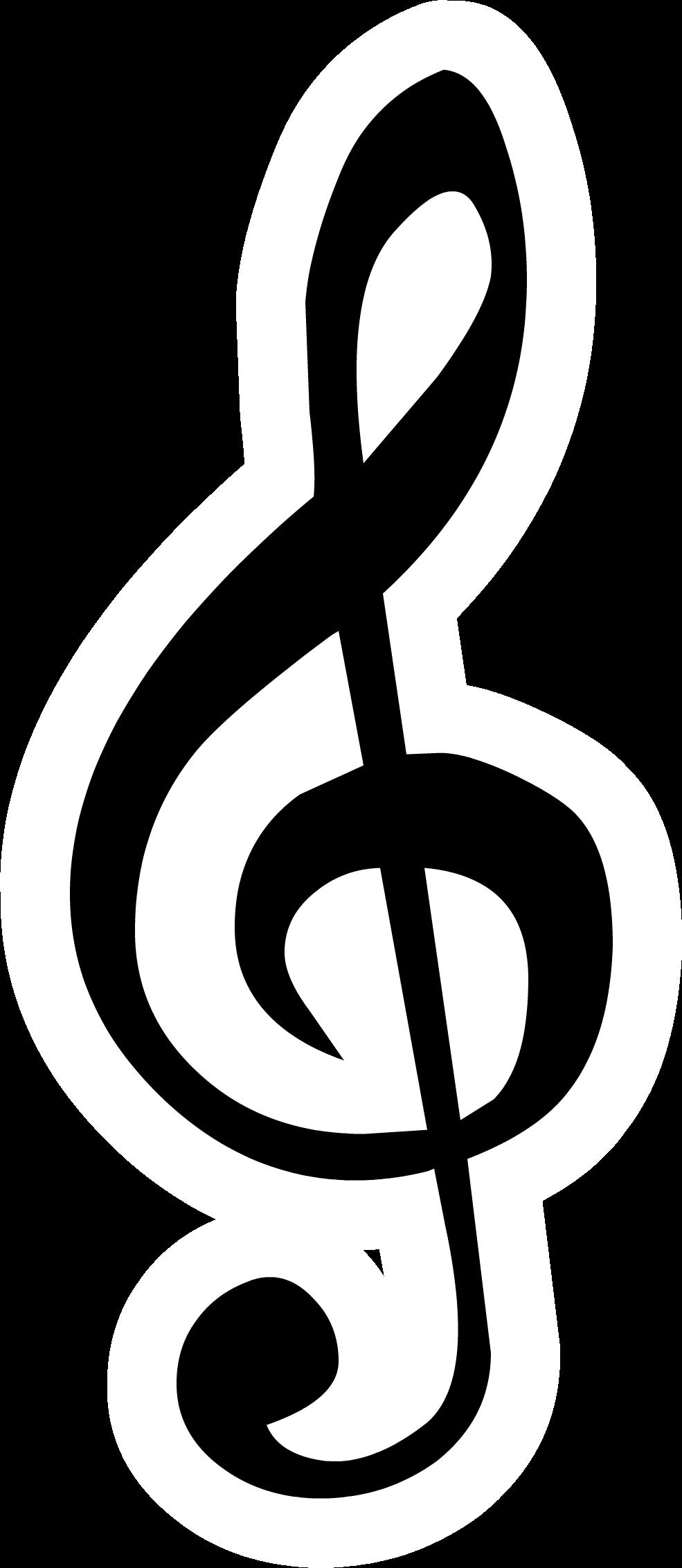treble clef pin