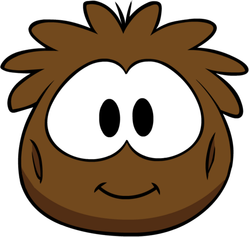 File:Brown Puffle Costume.png
