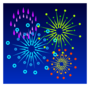 Fireworks Pin