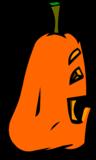 Goofy Jack-O-Lantern sprite 007
