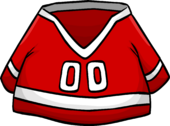Red Hockey Jersey clothing icon ID 277