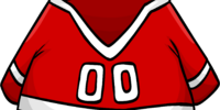 Red Hockey Jersey