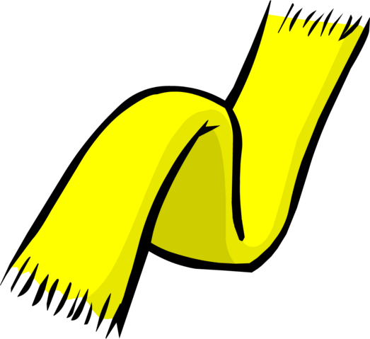 File:Yellow Scarf clothing icon ID 172.png